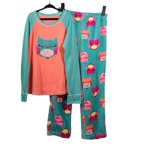 Adorable Owl Pajamas L (10-12)